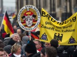 17.000 Pegida-Demonstranten in Dresden
