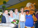 Rekordbesuch bei Welcome-Party