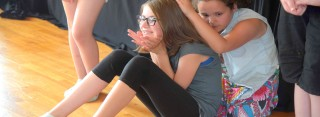Theaterworkshop in der Velberter Theaterschule AliBo