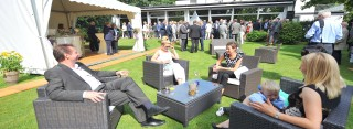 Clement beim Business-Brunch in Gelsenkirchen