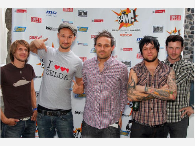 BÄM Award (gamescom festival) - The Donots