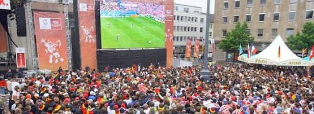 Wo gibt's Public-Viewing in Dortmund?