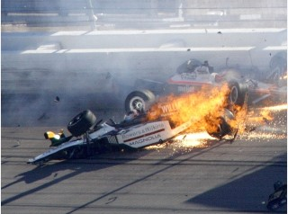 IndyCar-Sieger Dan Wheldon stirbt bei Horror-Crash in Las Vegas