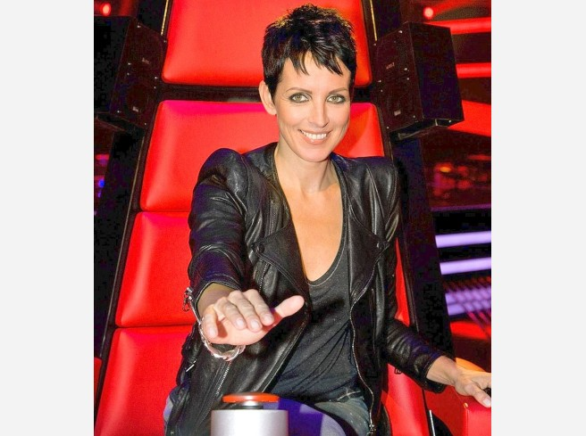 "Prominente Coaches sitzen in der Castingshow ""The Voice of Germany"" in der Jury: Nena, ..."