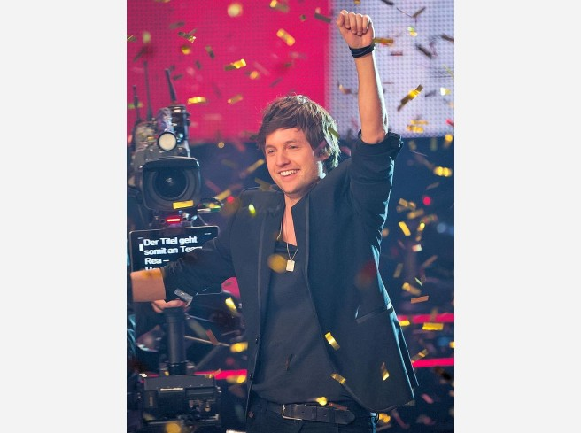 "Nick Howard aus dem Team Rea hat ""The Voice of Germany"" gewonnen. Die besten Bilder vom Finale:"