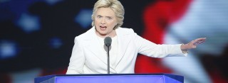 So will Hillary Clinton bei den US-Wahlen Trump besiegen