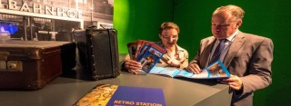 Interesse an der Retro-Station wecken